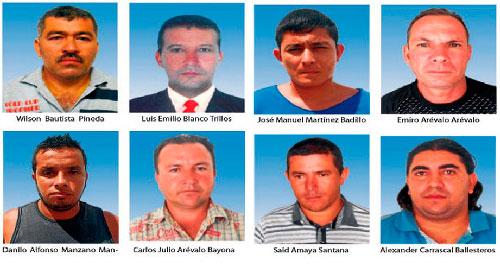 El Gaula de la Policía capturó a presuntos miembros de una banda dedicada a la extorsión y secuestro.