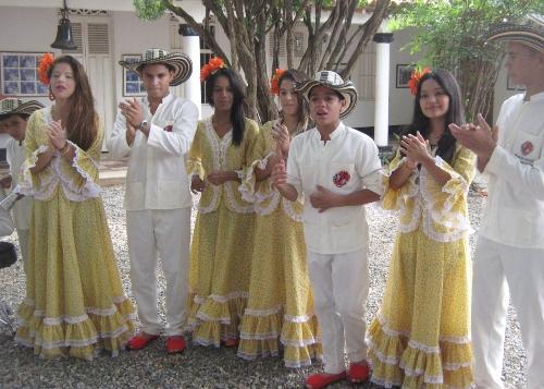 Como invitados de honor estarán Los Niños del Vallenato de la Escuela 'Rafael Escalona Martínez' en el Segundo Festival de Grupos Vallenatos Aficionados, del Espinal, Tolima. Suministrada/EL PILÓN