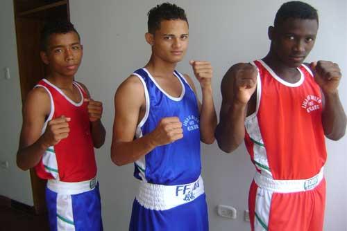 Los boxeadores que representaron al Cesar en el campeonato Juvenil de boxeo, en Dagua, Valle del Cauca, integrarán la Selección Colombia, que viajará a Perú.
