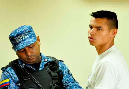 Alex Miguel Montero Sarmiento, confesó el crimen contra el instructor del SENA,  Miguel Antonio Alvarado Pedroza.