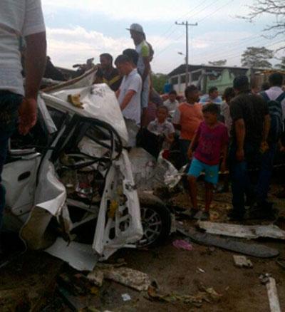 Accidente en La Guajira deja tres personas muertas