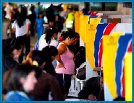 En algunas zonas del país existe riesgo electoral según análisis de la MOE.