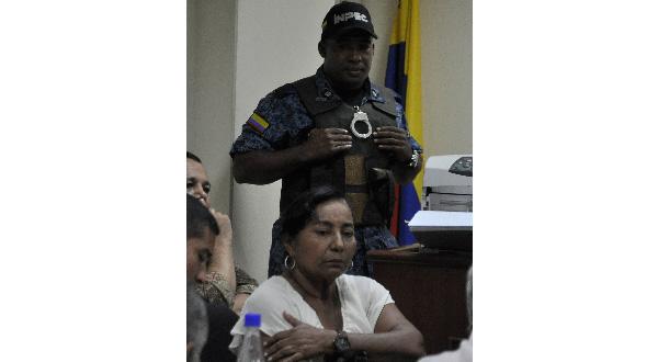 Enilda Elena Vásquez Oñate, exdirectora de la Cárcel Judicial de Valledupar.