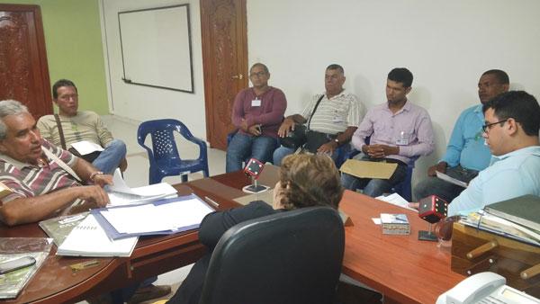 Las autoridades de tránsito de la ciudad se reunieron con representantes del gremio del transporte formal, mototaxistas y motociclistas particulares.