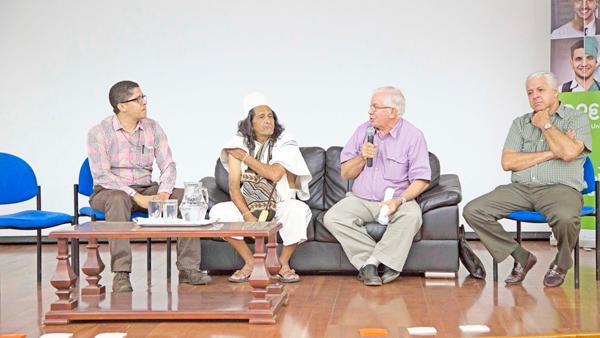 El foro sobre el proyecto de construcción del embalse organizado por Asoprovida, Red de jóvenes del Ministerio de Medio Ambiente, se llevó a cabo en la Fundación Universitaria del Área Andina. EL PILÓN / Cortesía.