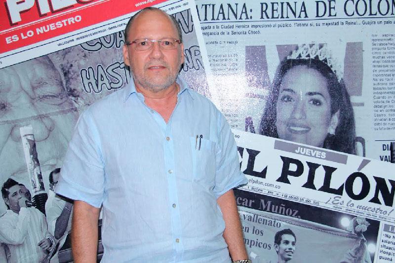 foto: Jhonny Molina / EL PILÓN En su paso por Valledupar, el magistrado Vicente De Santis estuvo de visita en EL PILÓN.