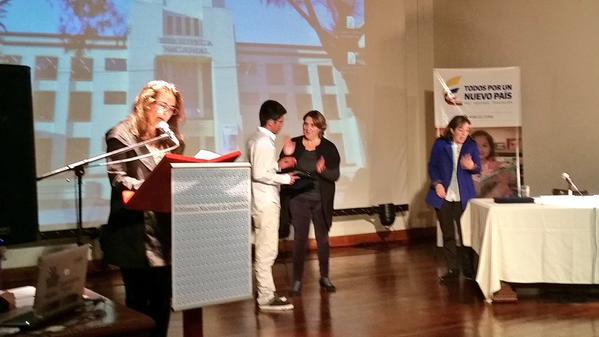 En Bogotá se llevó a cabo la premiación del Premio Nacional de Bibliotecas Públicas 'Daniel Samper Ortega'. EL PILÓN hizo presencia en el acto. EL PILÓN / Carlos Mario Jiménez.