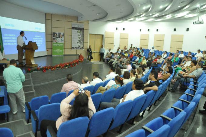 JOAQUÍN RAMIREZ/EL PILÓN La presentación de Findeter para la Alcaldía de Valledupar se realizó en la Fundación del Área Andina.