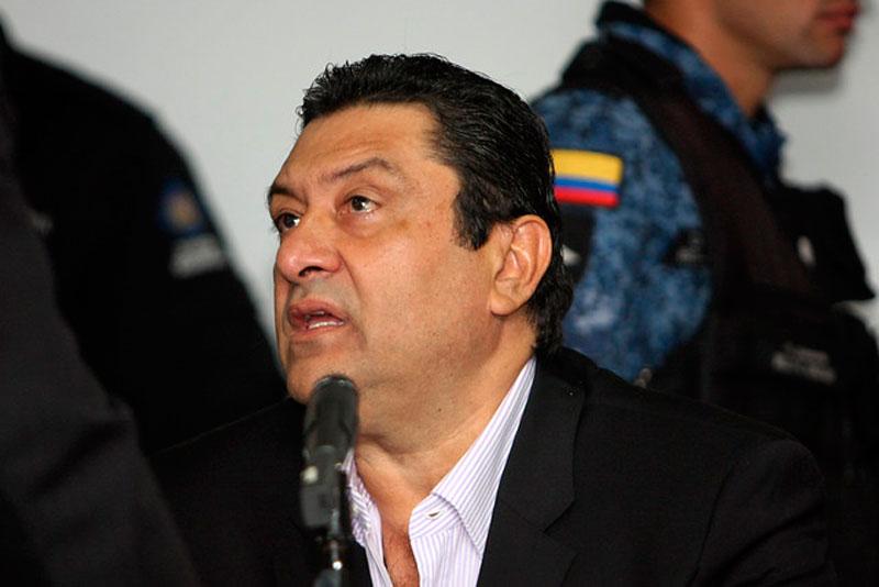 Juan Francisco Gómez Cerchar, exgobernador de La Guajira.