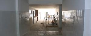 En la sede de La Nevada del Head, se construyeron nuevas zonas de Urgencias y Consulta Externa, hasta la suspensión emanada por la administración municipal.