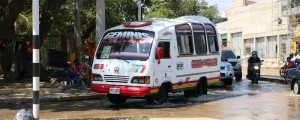 El gremio de transportadores de busetas de servicio público en Valledupar se prepara para una protesta.