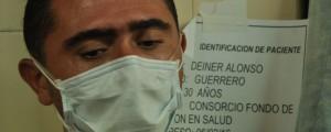 Deiner Alonso Guerrero asegura que las drogas lo hicieron el crimen de la menor. Foto: Joaquín Ramírez.