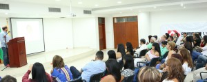 Daniel Samper Ospina estuvo en Valledupar ayer para participar en una conferencia que instaló el Círculo de Periodistas de Valledupar (CPV) y el Drummond.