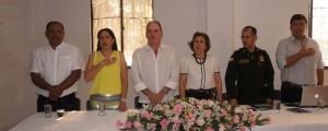 Con la presencia de Franco Ovalle fue presentado el Plan de Desarrollo en La Paz. EL PILÓN/Cortesía.