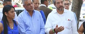 El director nacional del Dane, Mauricio Perfetti, inauguró la nueva sede de la entidad en Valledupar en la tarde de ayer.