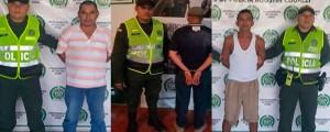 Los capturados fueron dejados a disposición de las autoridades que los solicitaban.