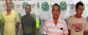 Los cuatro capturados fueron judicializados por el delito de hurto agravado.