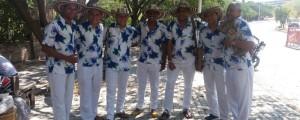 Integrantes de la tambora Okey, premiada como la mejor del Carnaval en Valledupar. EL PILÓN / Cortesía.