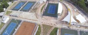 alrededor de 350 personas hacen uso del complejo tenístico construido en Valledupar.