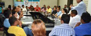 La reunión realizada el fin de semana en la que participó la gobernadora Oneida Pinto y representantes de la Universidad de La Guajira.