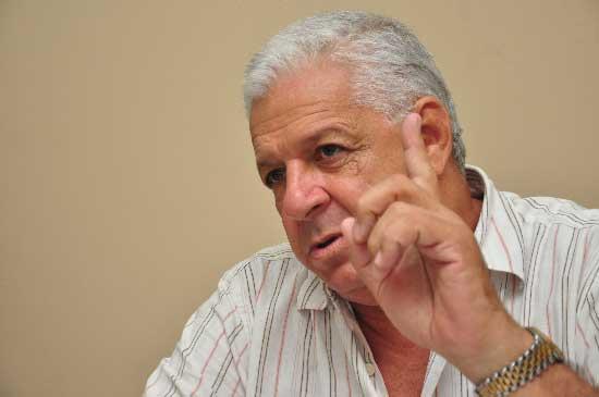 El presidente del Fondo Ganadero del Cesar, Hernán Araújo Castro, dijo que no teme a las investigaciones pero se mostró sorprendido de ellas.