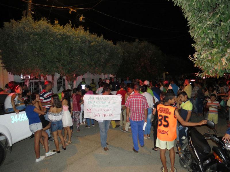 Los habitantes de San Martín saldrán a las calles esta noche para rechazar el fracking en el corregimiento de Cuatro Bocas.