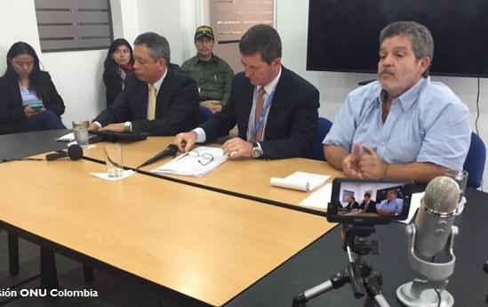 Iniciará misión para verificar cese al fuego con FARC