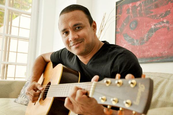 Wilfran Castillo, cantautor.