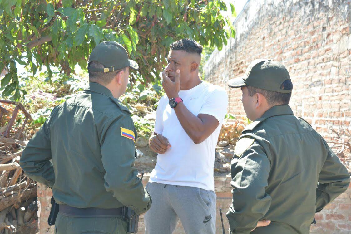 El defensor Farid Díaz fue atracado en Valledupar