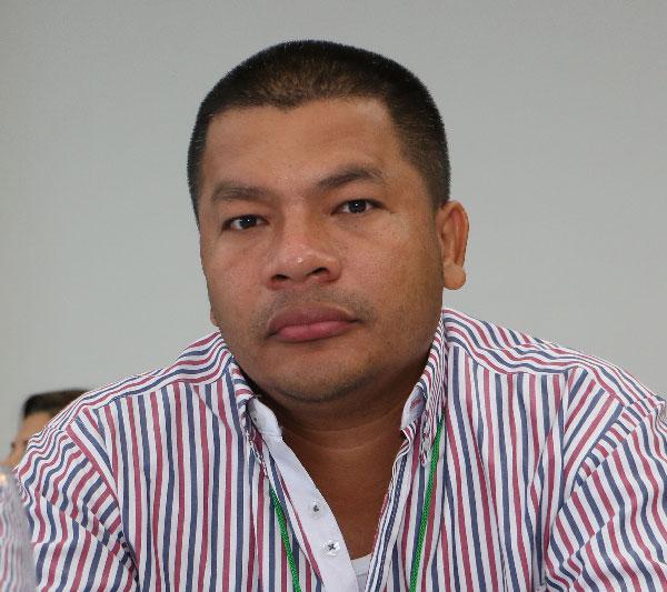 Este es el Alcalde del municipio de San Alberto, Pedro Rafael Guevara Chogo. Foto: Archivo.