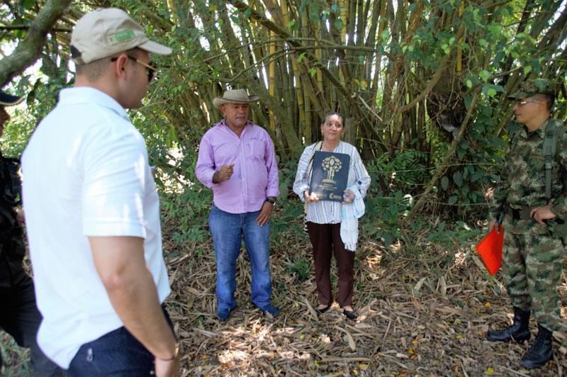 Un juez de Restitución de Tierras de Valledupar ordenó la restitución de predios a campesinos en San Alberto.