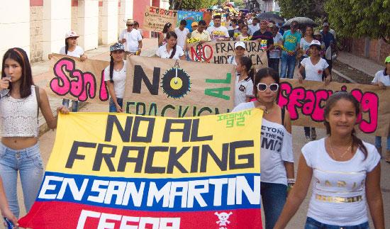 Una vez más los líderes sociales resaltan que el fracking conlleva un alto riesgo de afectación al agua. Foto: referencia
