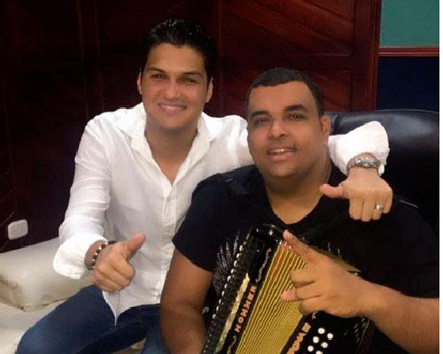 Elder Dayán Díaz y Rolando Ochoa. Foto tomada de @elderdayan