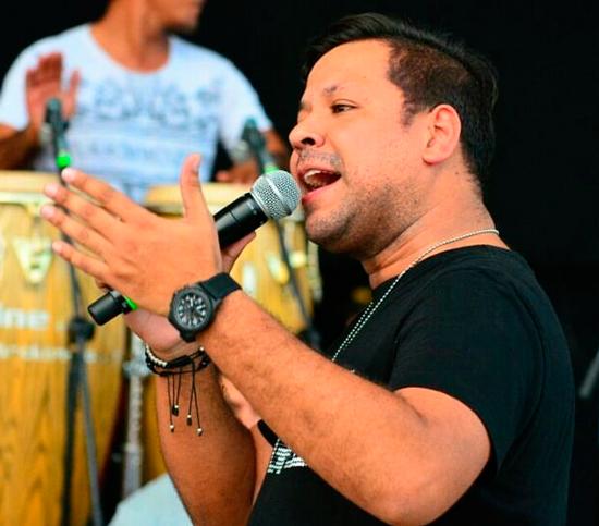 Luis Ángel Díaz Acosta es el tercer hijo del matrimonio entre Diomedes Díaz y Patricia Acosta, sus hermanos son Rafael Santos, Diomedes de Jesús y 'El Gran Martín Elías'. EL PILÓN / Camilo Peralta.