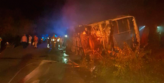 Grave accidente en La Guajira deja 5 muertos y 43 heridos