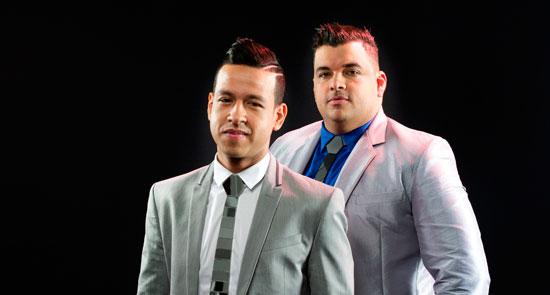 Martín Elías y Rolando Ochoa grabaron cinco producciones. La primera fue en 2006. EL PILÓN / Archivo.