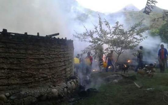 Incinerados templos sagrados de los kankuamos en el Cesar