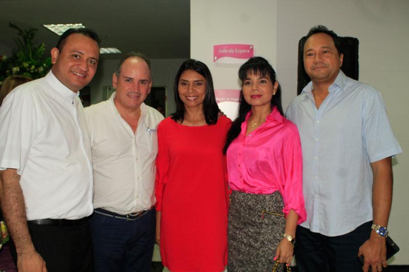 Yamit Martínez, Francisco Ovalle Angarita, Odalis González, Ana Rodríguez y José Mindiola.