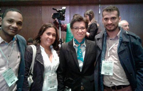 Claudia López, candidata presidencial de la Alianza Verde