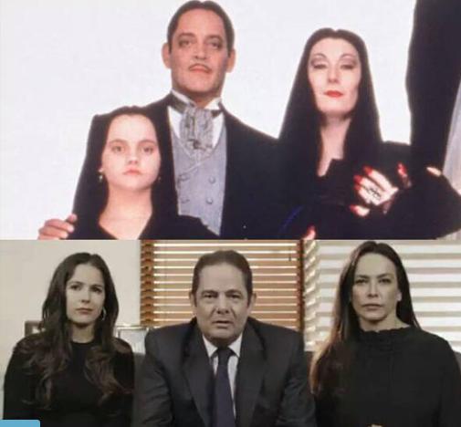 Así reaccionó Vargas Lleras al meme que compara a su familia con Los Locos Addams