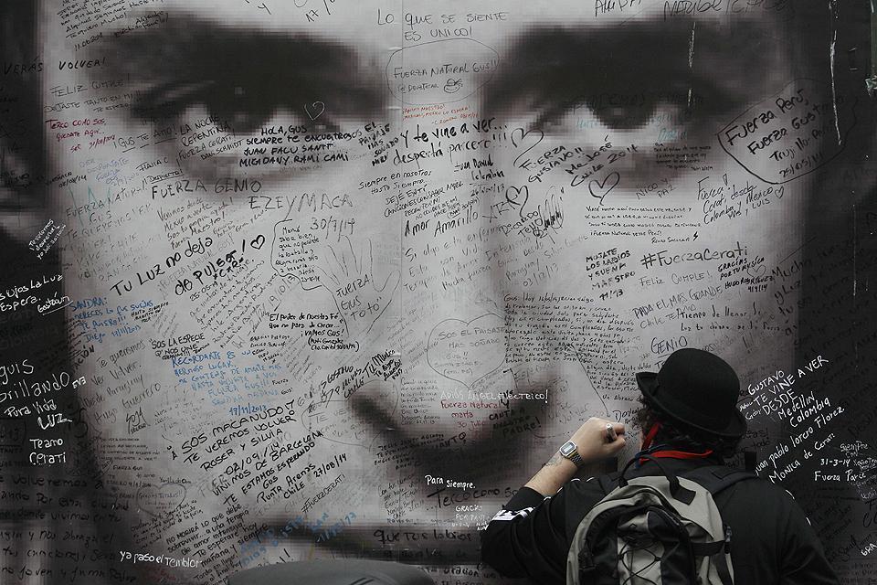 Un paseo inmortal por el éxito de Gustavo Cerati