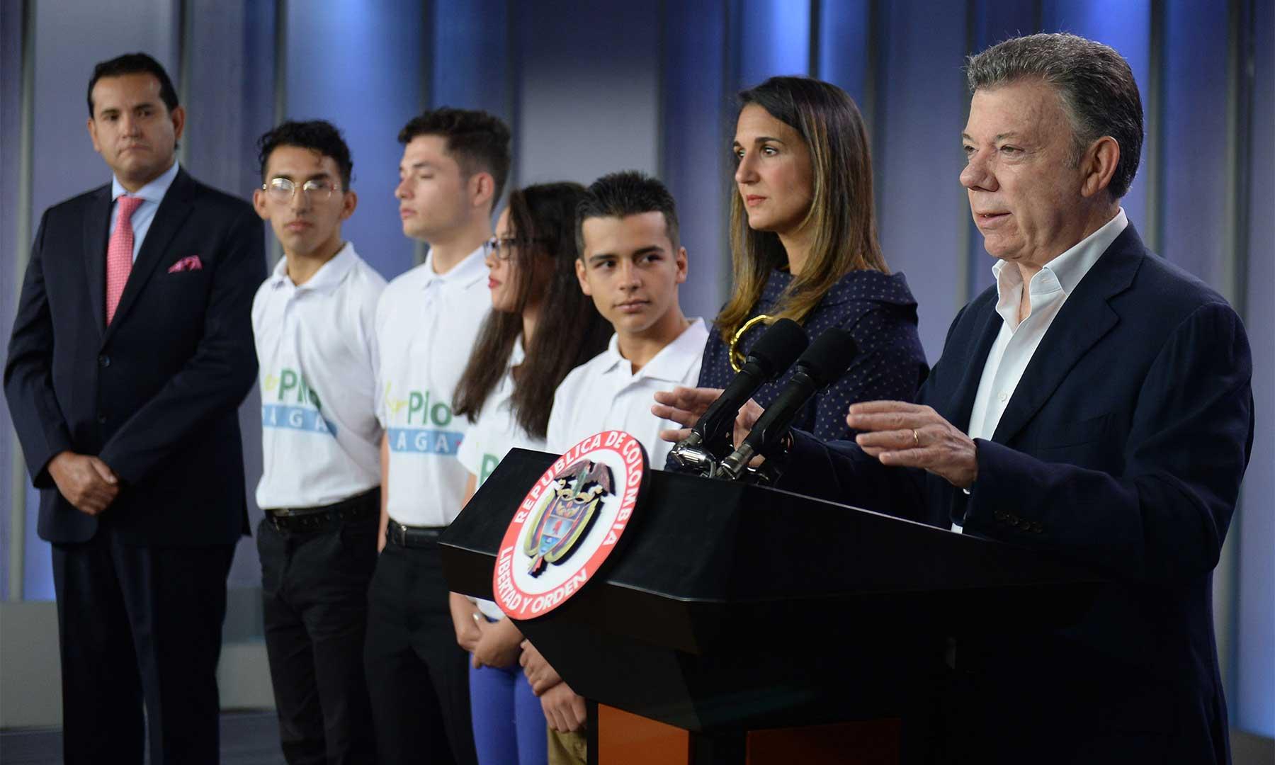 Presentan cuarta convocatoria del programa 'Ser pilo paga — Ojo bachilleres