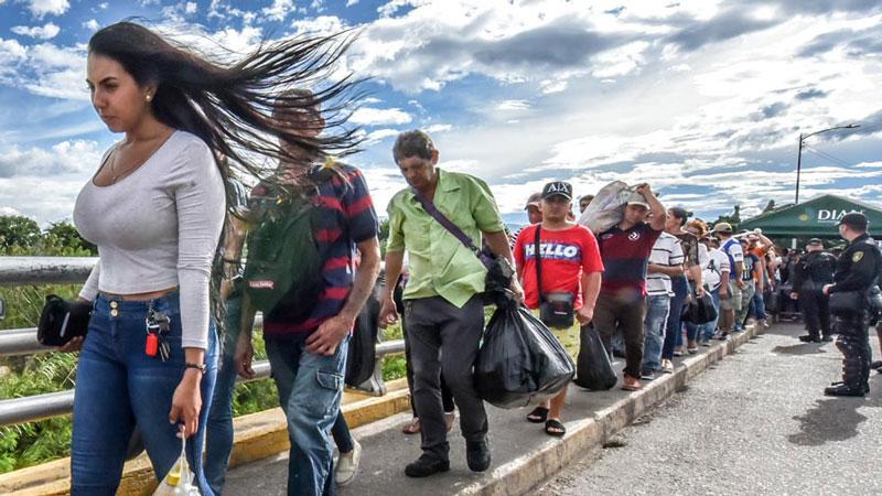 Más de 550.000 venezolanos migran a Colombia por situación del país