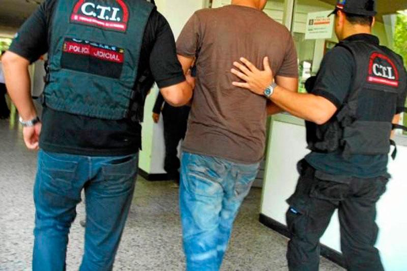 Capturado funcionario del CTI que buscaba caleta durante su período de vacaciones