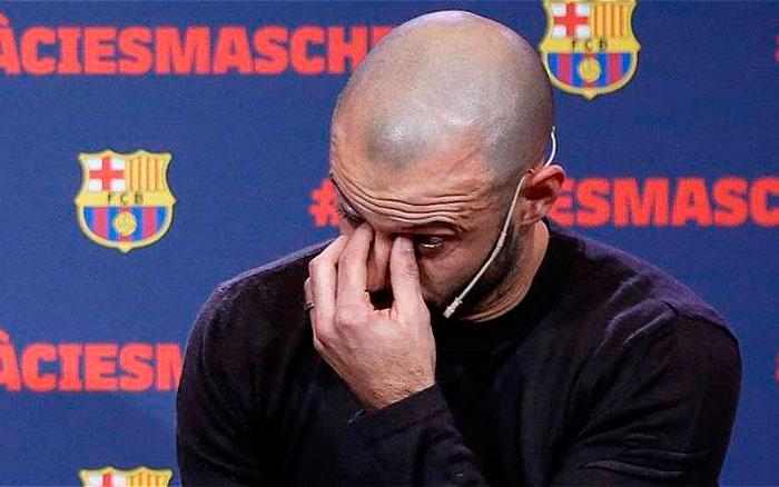 Barcelona dirá adiós a Javier Mascherano en el Camp Nou