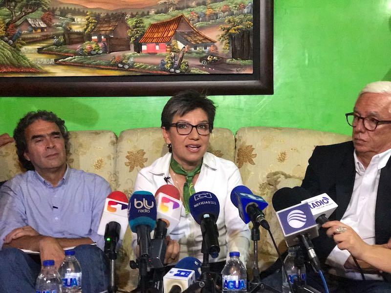 Claudia López, cada vez más cerca de ser vicepresidente de Fajardo