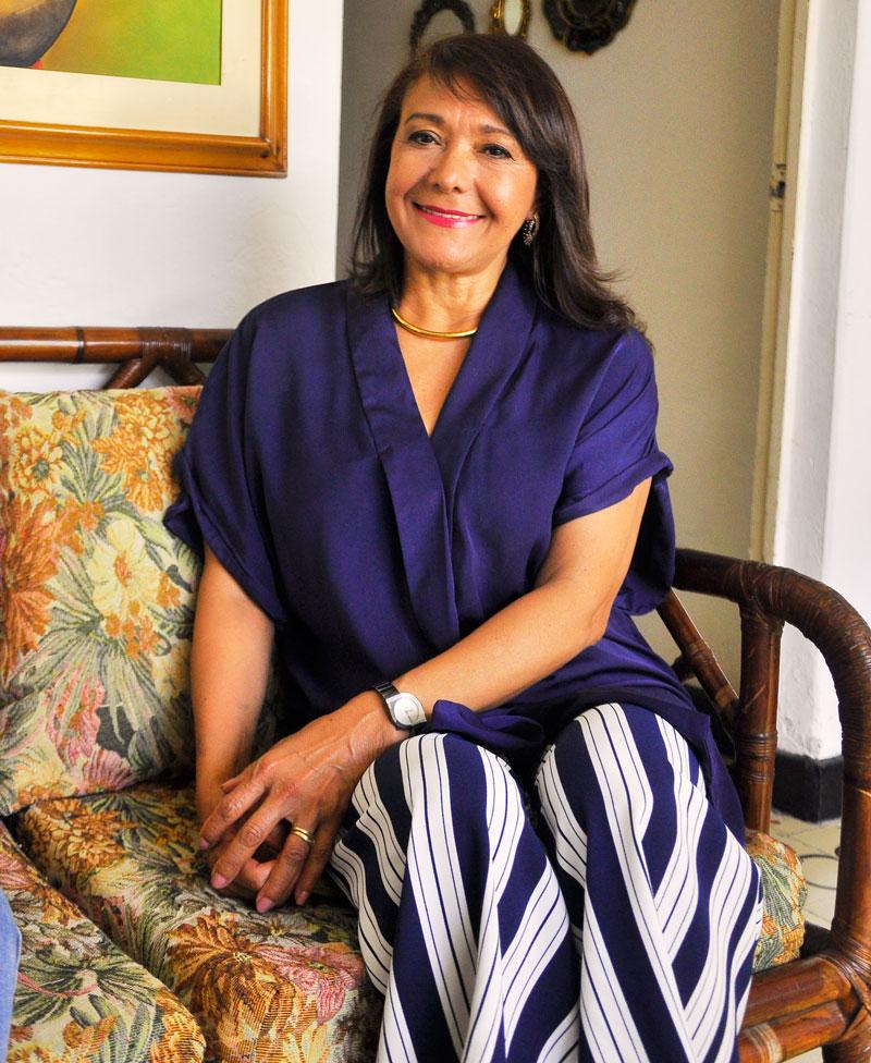 Carmen Díaz Pumarejo hace parte del Consejo General de Peseux desde noviembre de 2016.