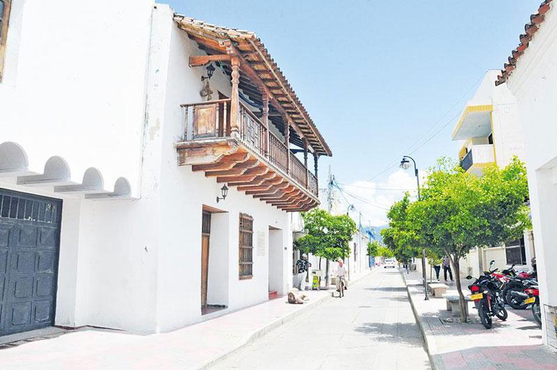 El centro histórico de Valledupar fue  el hilo conductor de un conversatorio.