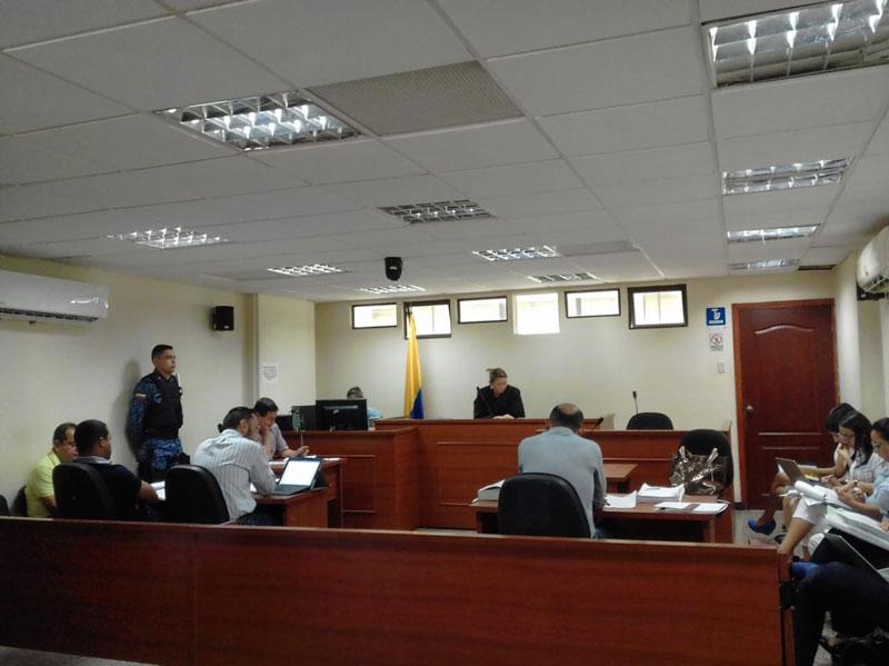 En la diligencia solo asistió el médico psiquiatra Manuel Altamar Colón.
