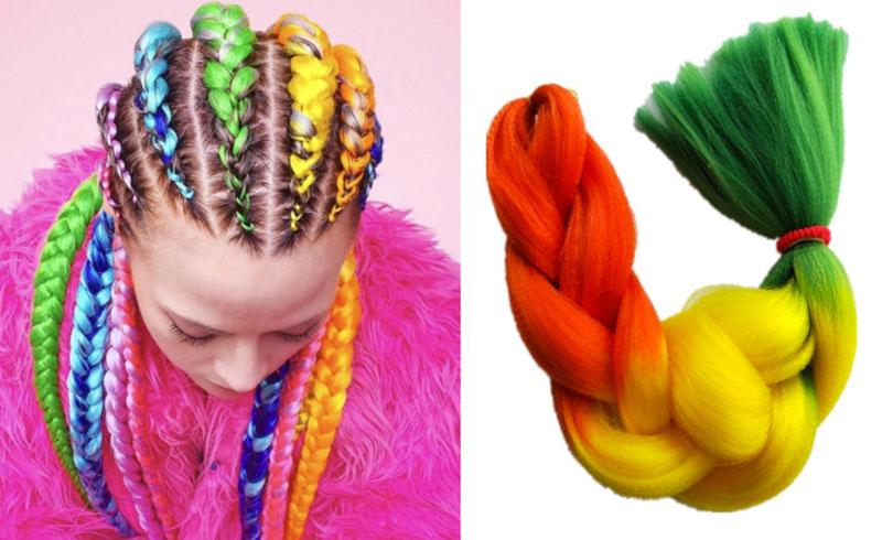 El color llega a revolucionar la manera de llevar un look arriesgado y creativo.